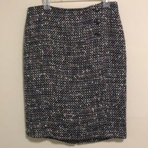 Talbots Pencil Skirt Tweed SZ 10 EUC